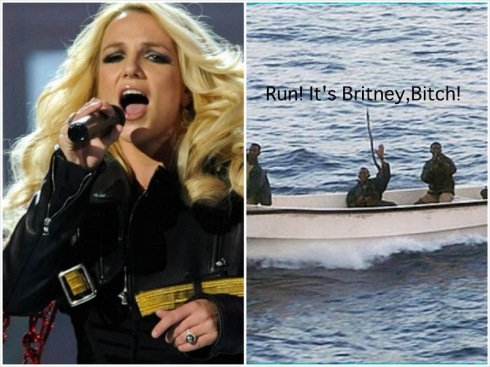 Britney Spears Defeats Somali Pirates