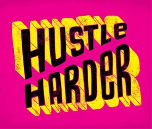 Ashley goldberg Hustle Harder